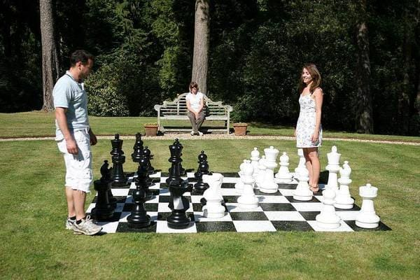 Giant Chess Games to rent in London