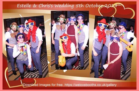 Photo Booth for Wedding in Kingston